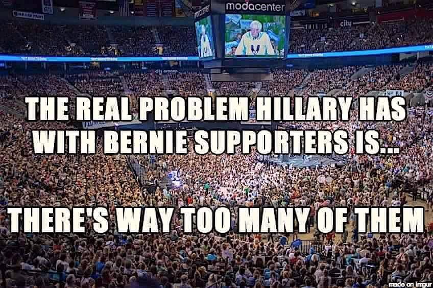 Bernie Crowds