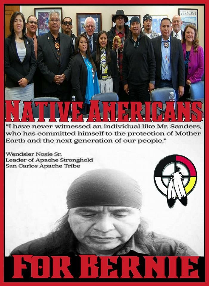 NativeAmericans4Bernie